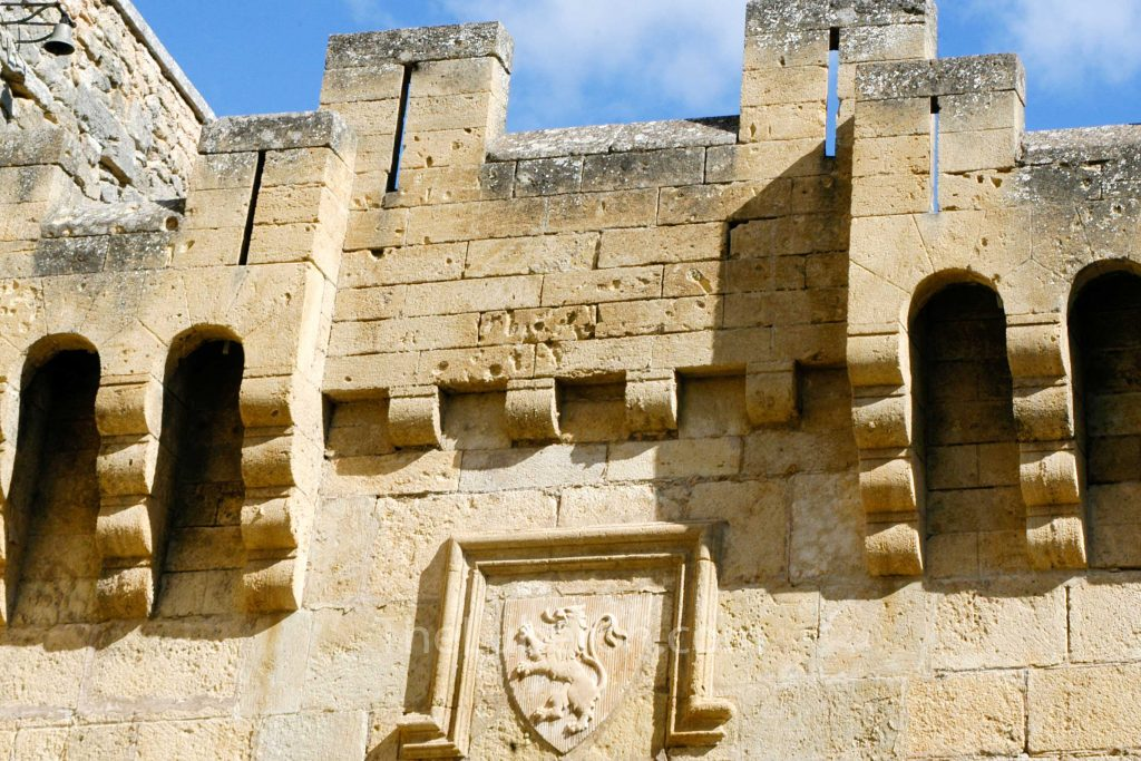 Ansouis castle detail