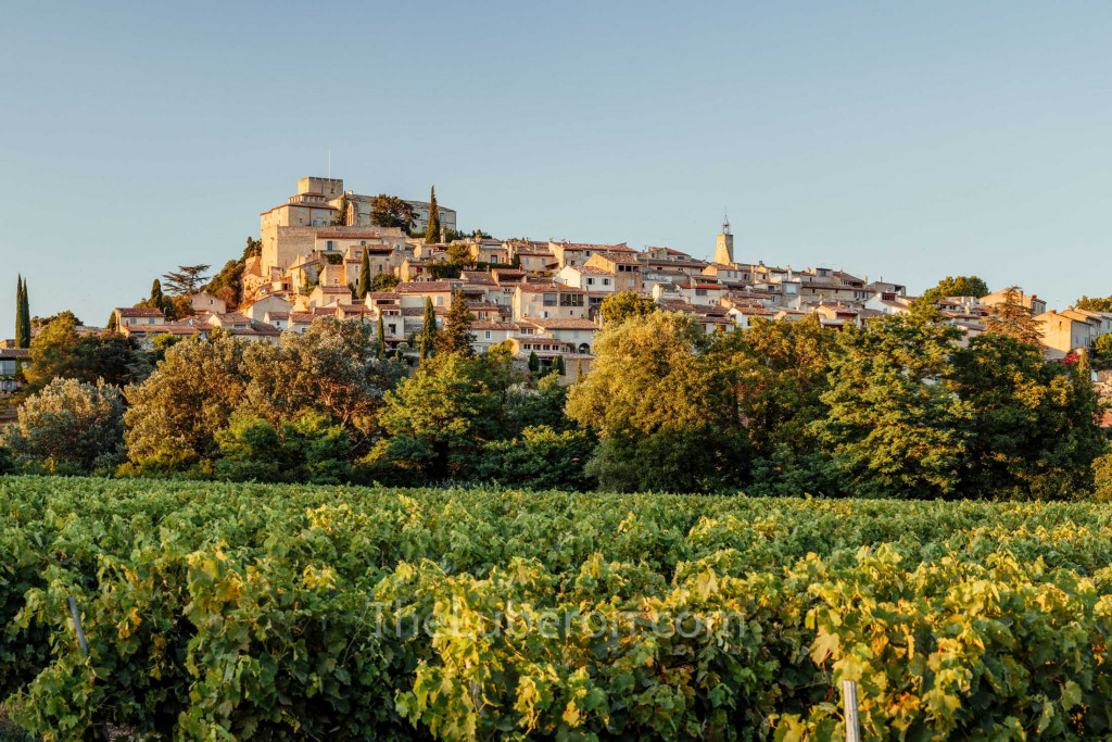 Ansouis village