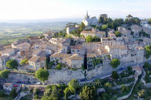 Aerial view of Bonnieux