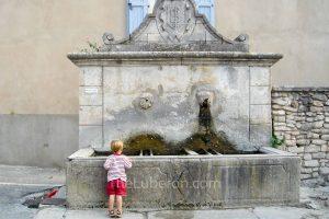 Bonnieux fountain