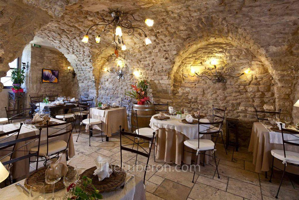 L'Arome restaurant in Bonnieux