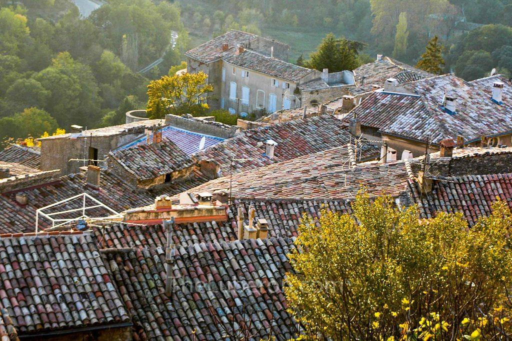 Bonnieux rooftops