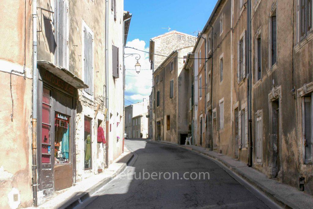 Rue de la République, Bonnieux