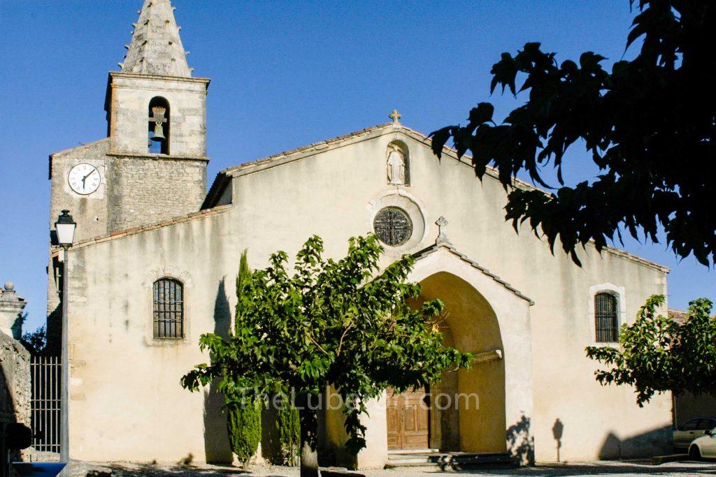 Cabrieres d'Avignon church