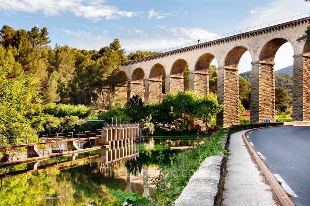 Aqueduct at Fontaine-de-Vaucluse