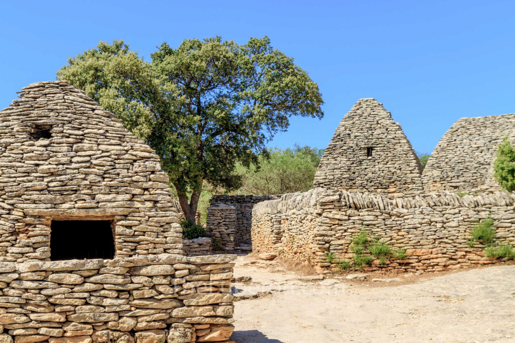 Village of bories in Gordes