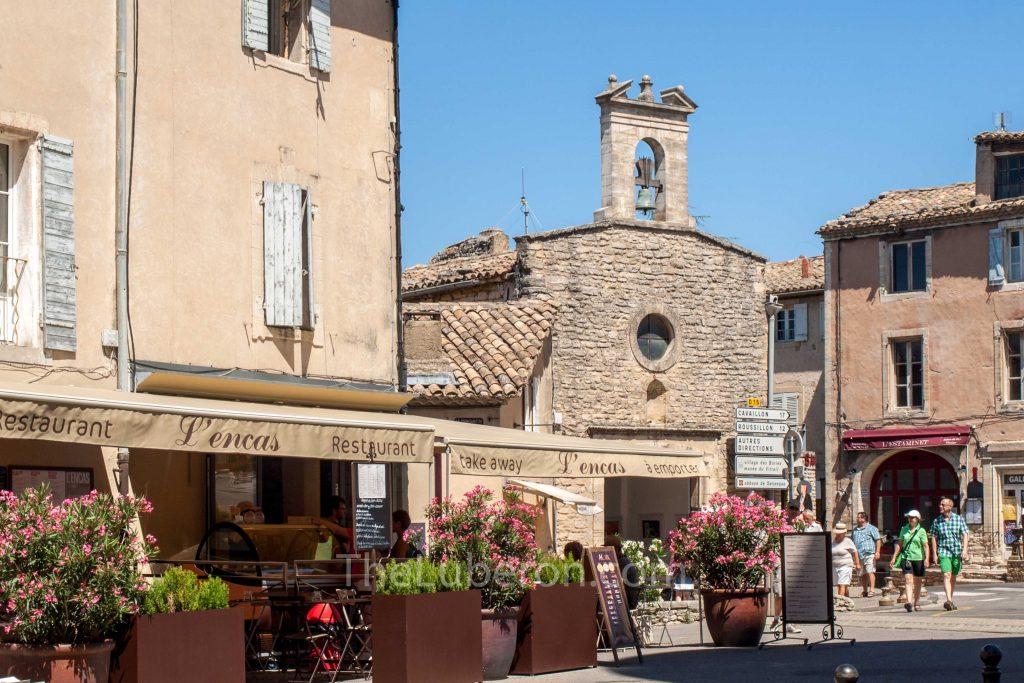 Gordes village centre