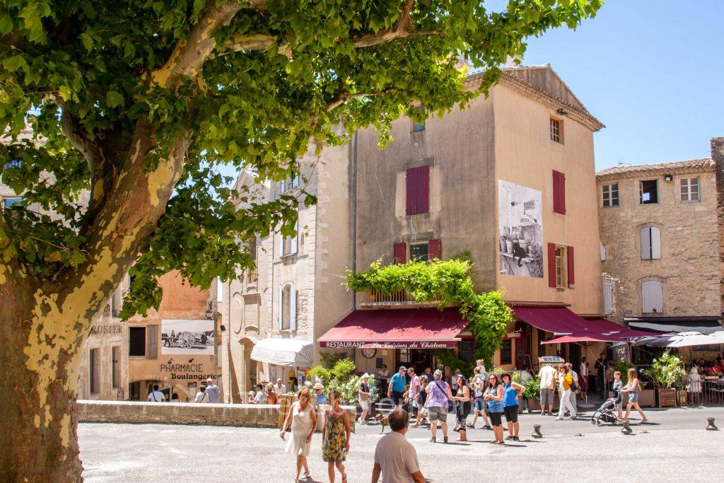 Main square of Gordes