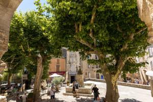 Main square in Gordes
