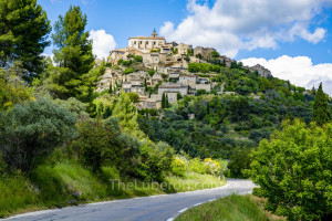 View of Gordes from the road