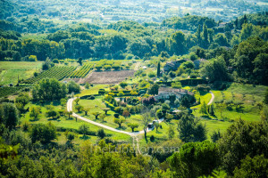 View from Gordes over valley