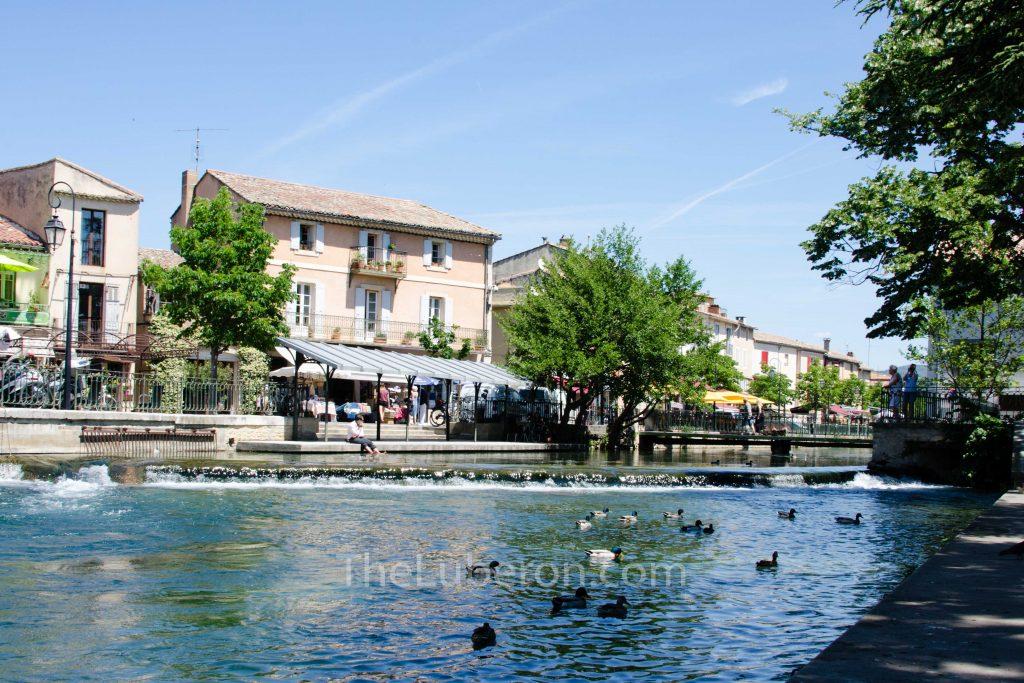 Centre of l'Isle-sur-la-Sorgue
