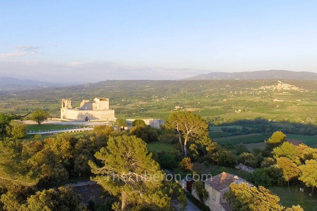 Marquis de Sade's castle in Lacoste