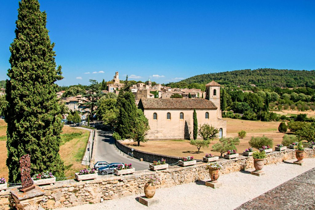 Lourmarin from the castle