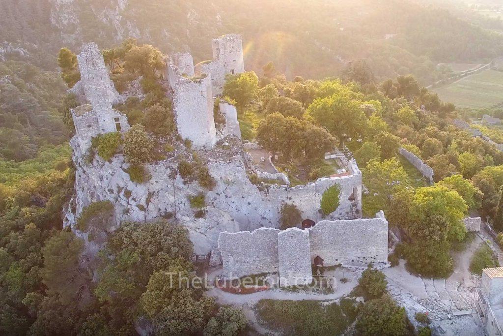 Oppede-le-vieux castle