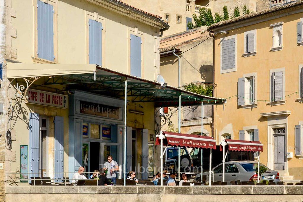Bar in Robion old village
