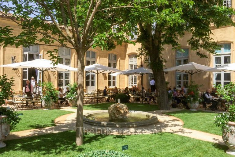 Caumont Museum garden