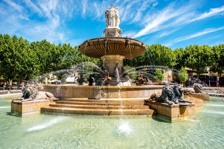 Fountain in city centre