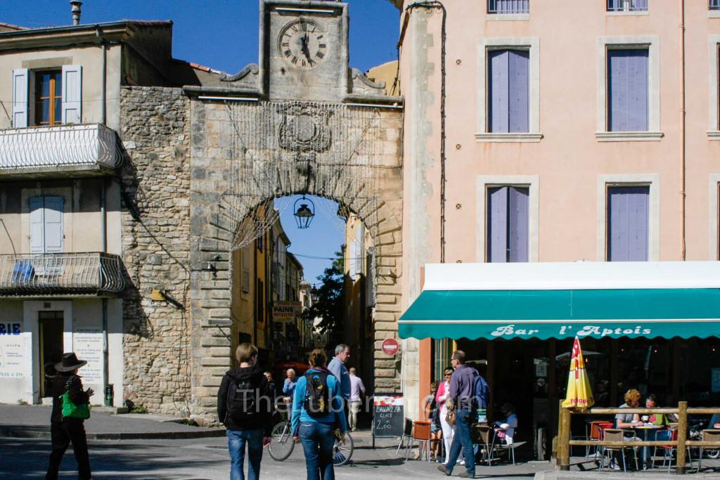 The Porte de Saignon