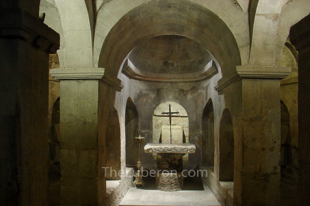 crypt in church