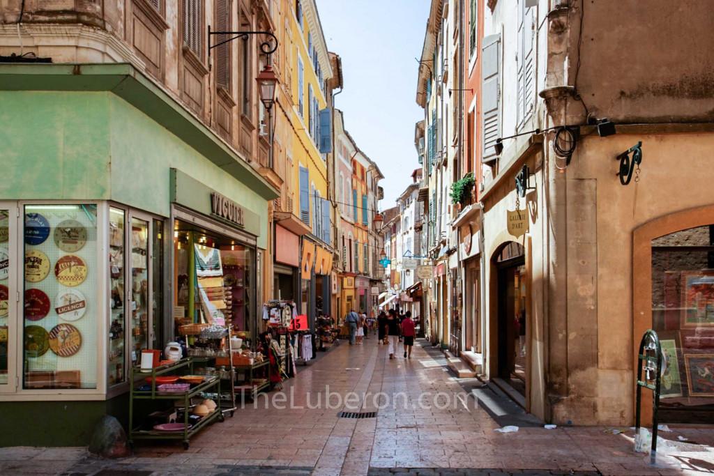 Street full of shops