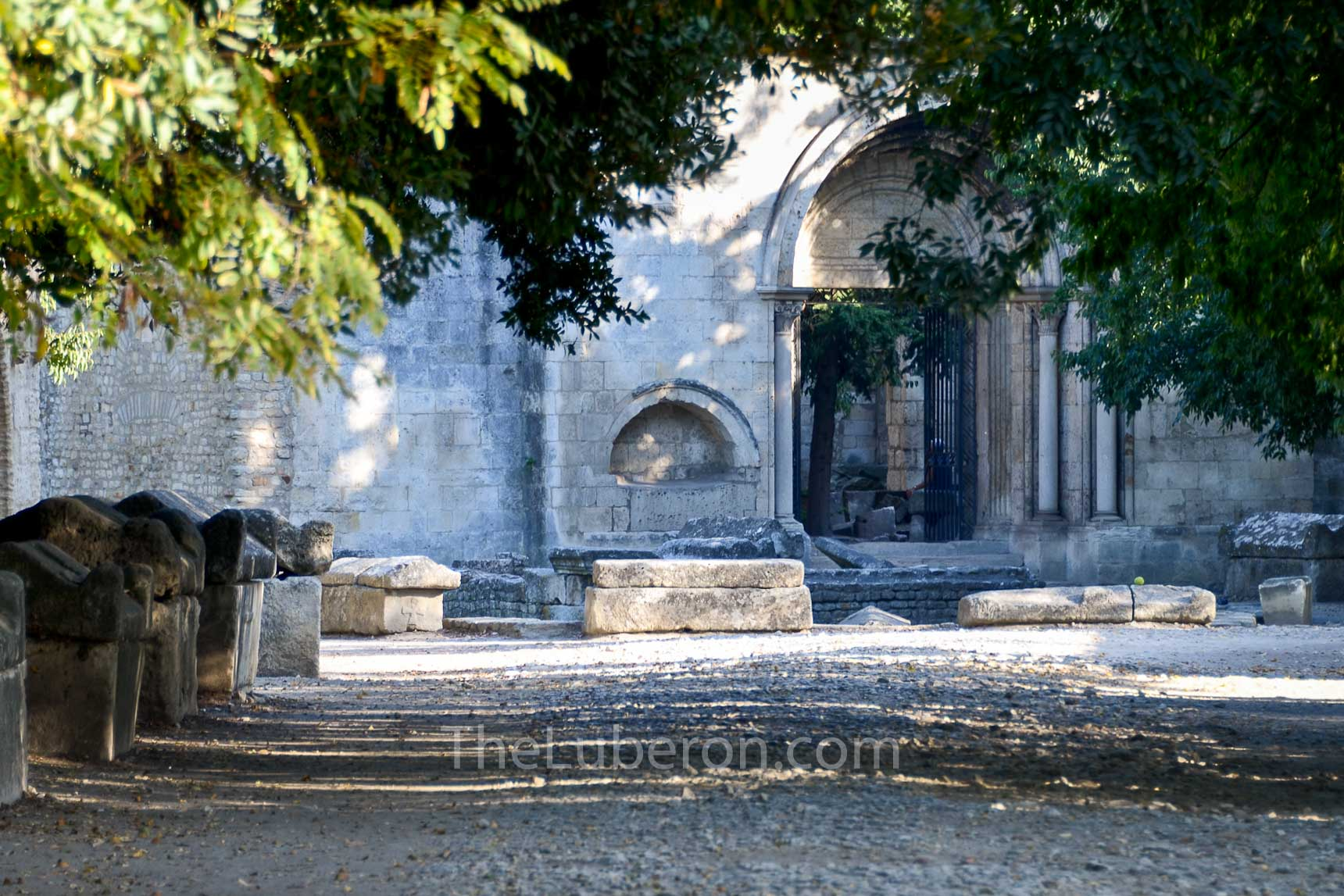 Church in the Alyscamps in Arles