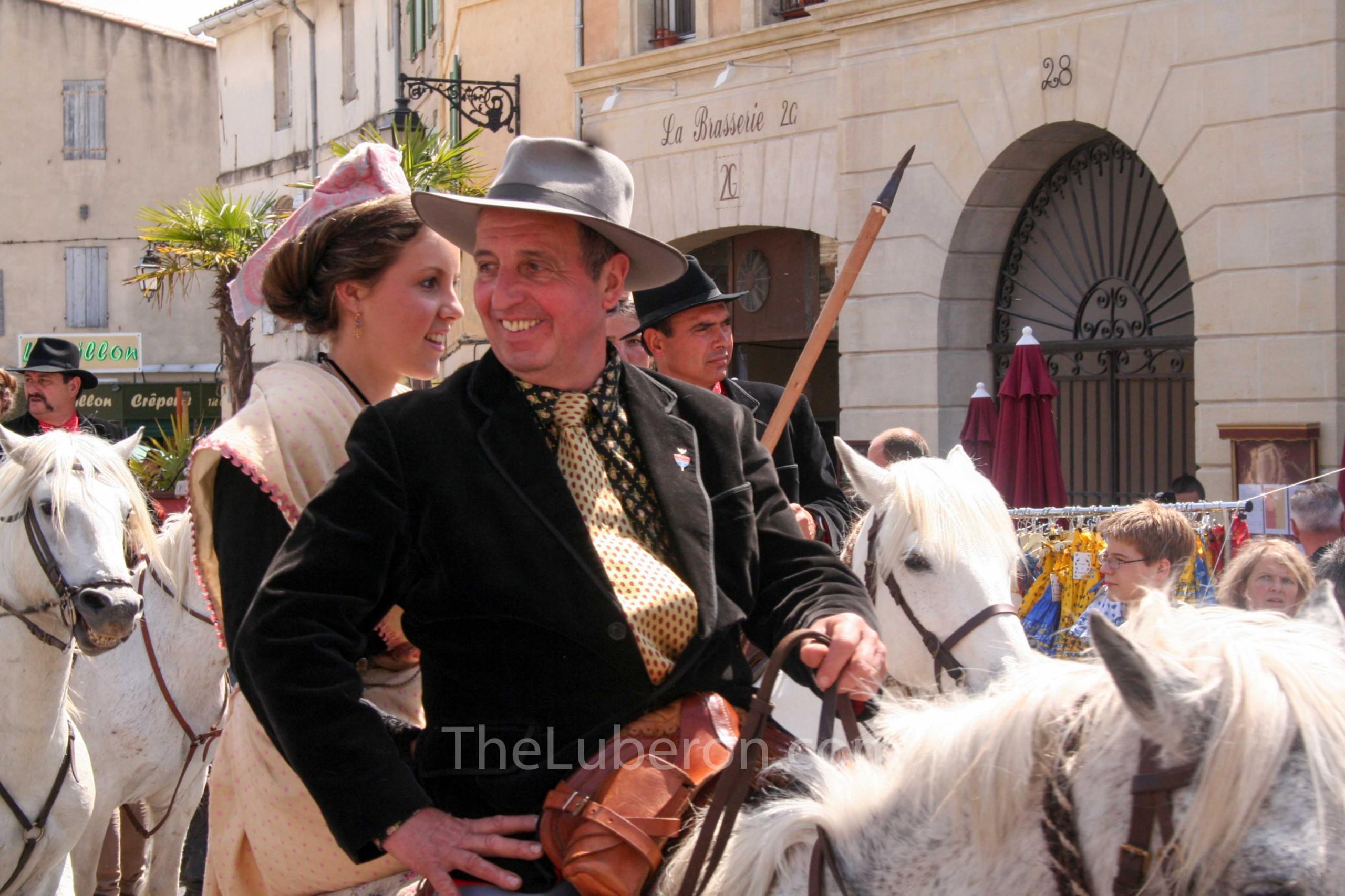 Fete des Gardians cowboy parade