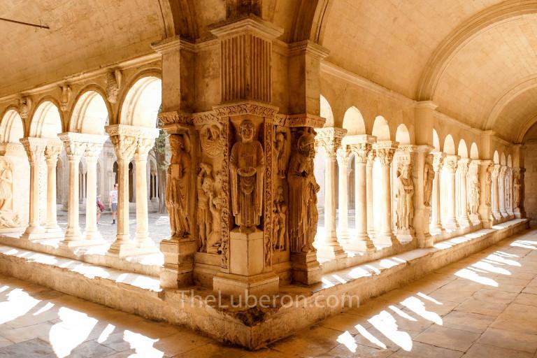 St Trophime cloister