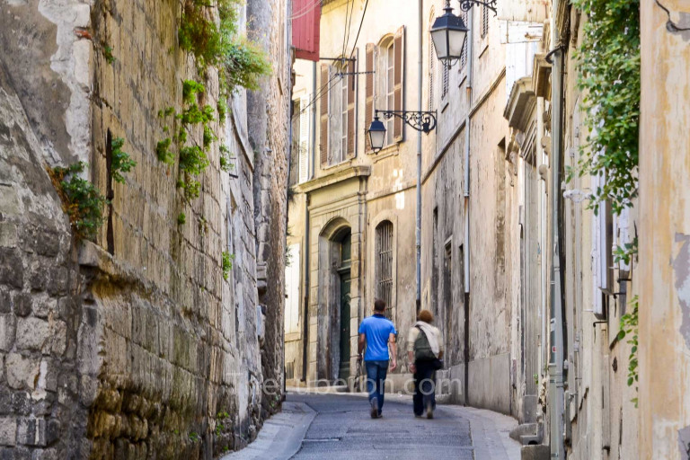 Arles city centre