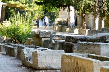 Tombs in Alyscamps, Arles