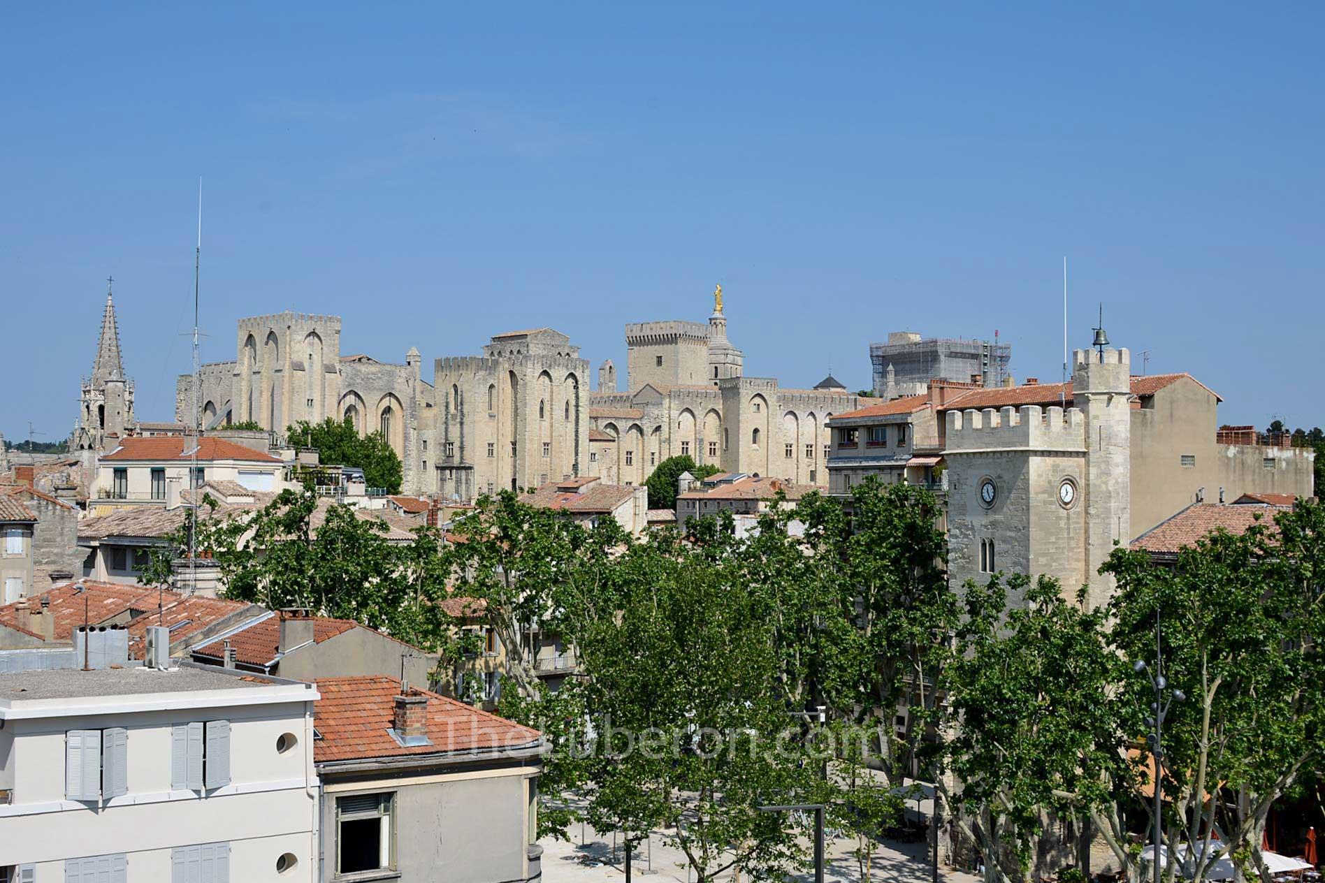 Avignon city centre