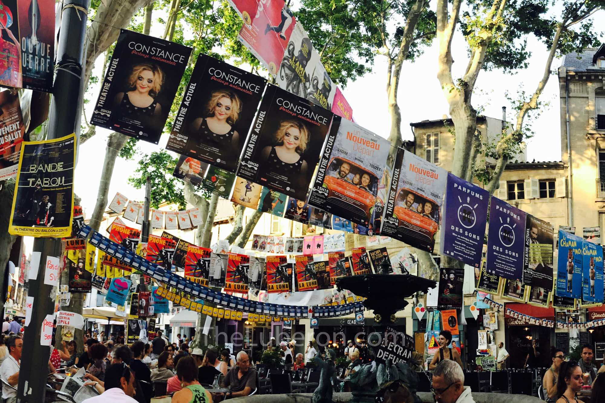 Avignon festival posters