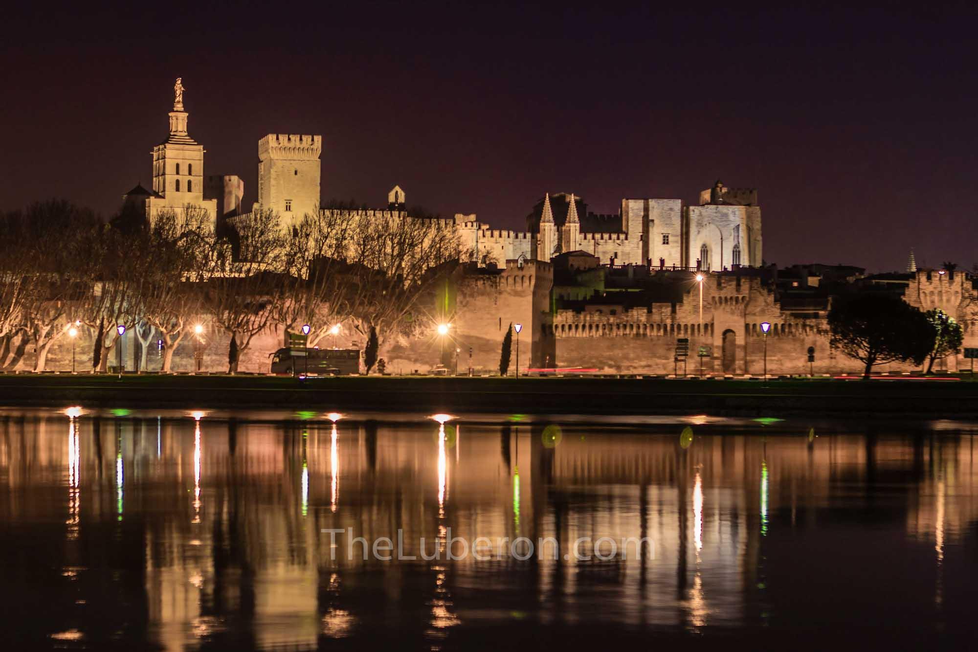 Avignon across the Rhone