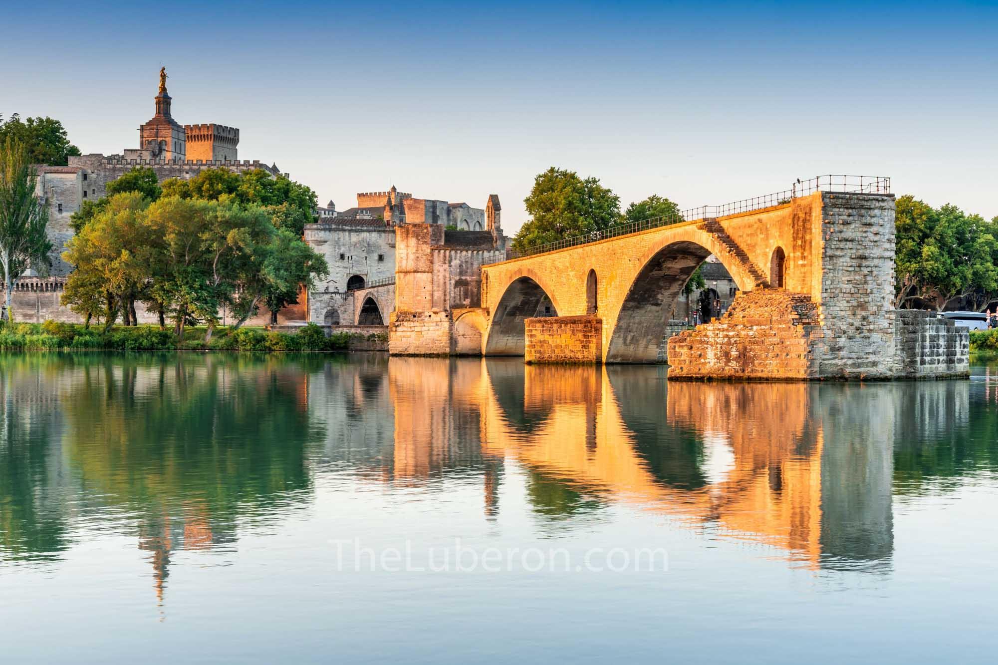 The old bridge in Avignon