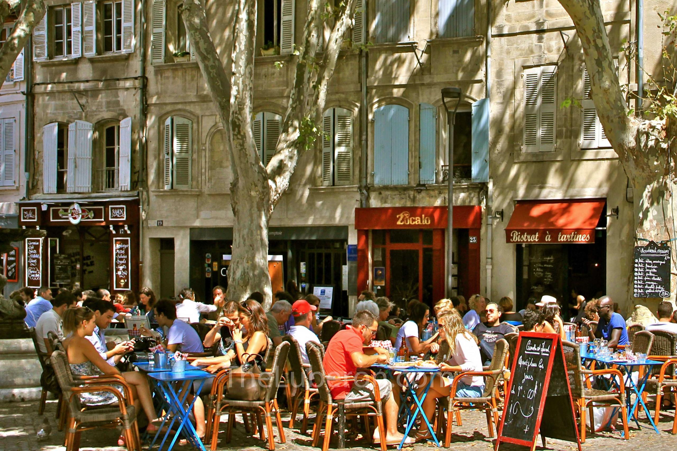 Lunch in Avignon
