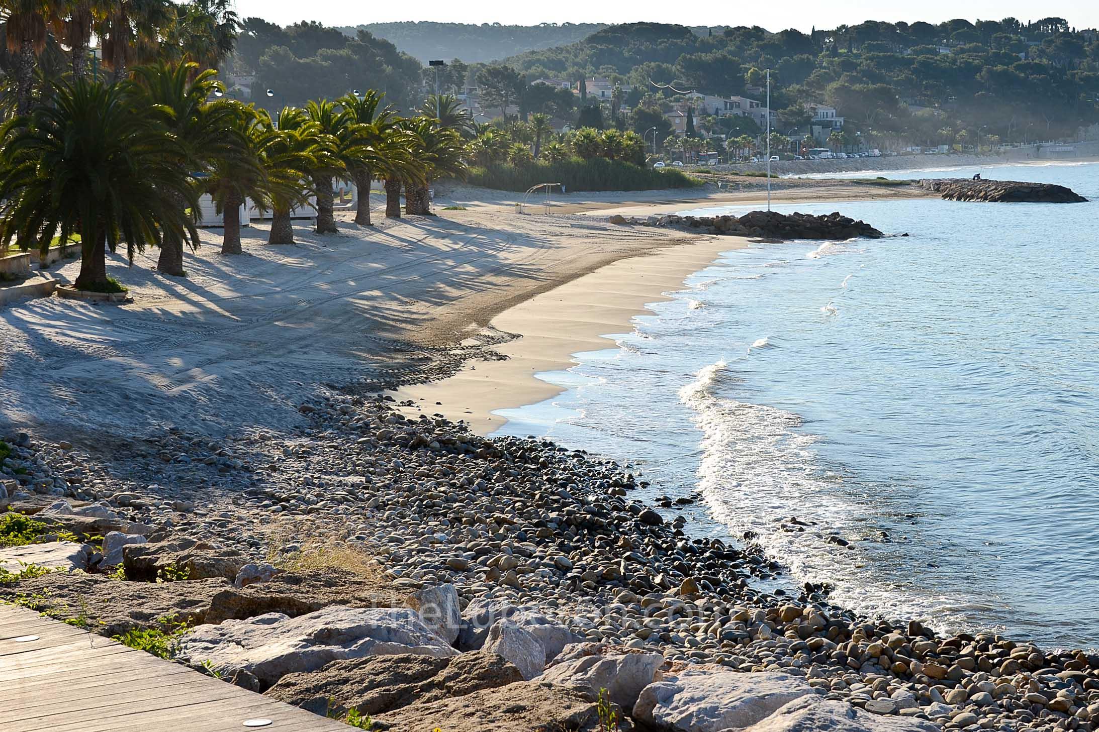 Bandol beach scene