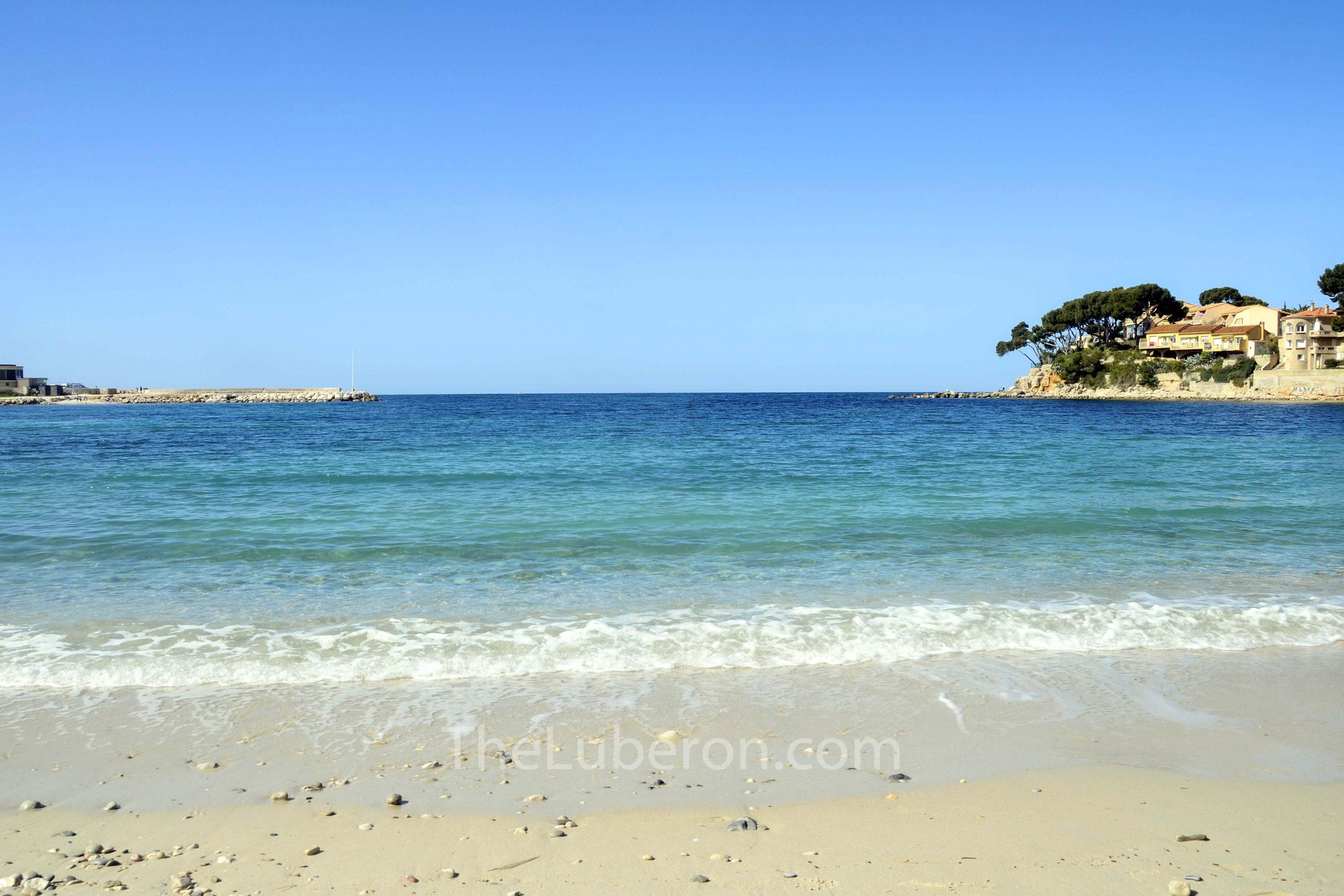 Beach in Bandol