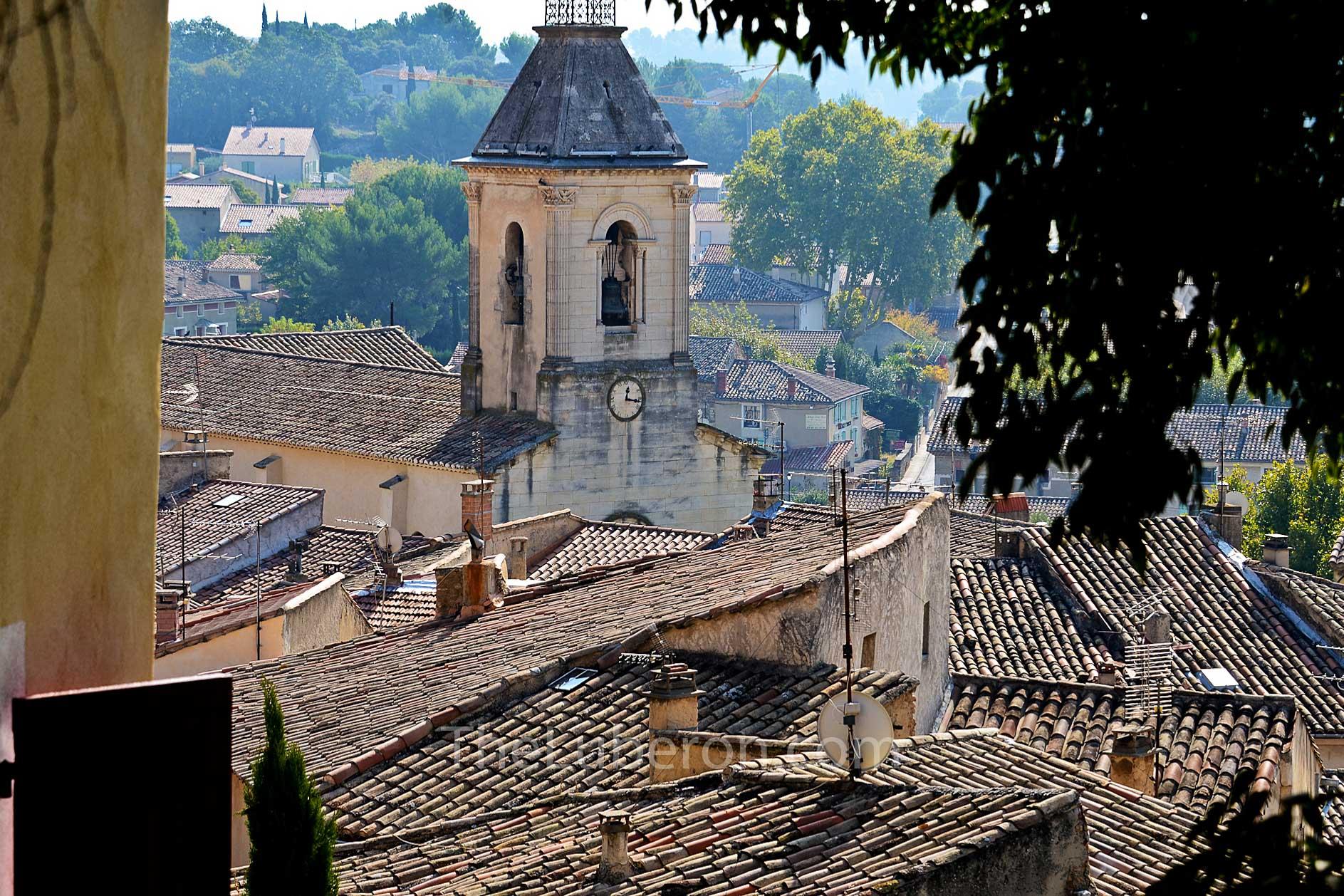 Beaumes-de-Venise church tower