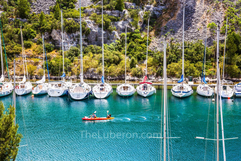 Boats in Port-Miou