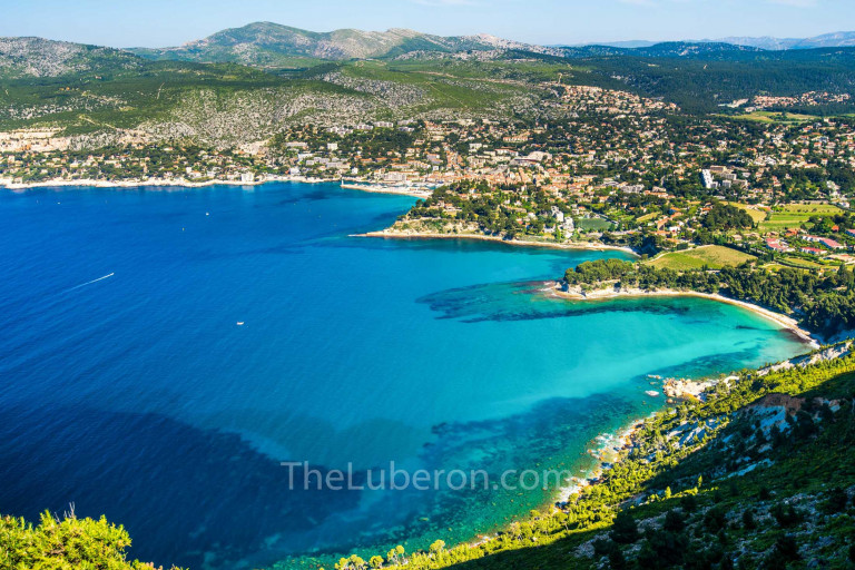 Aerial view of Cassis