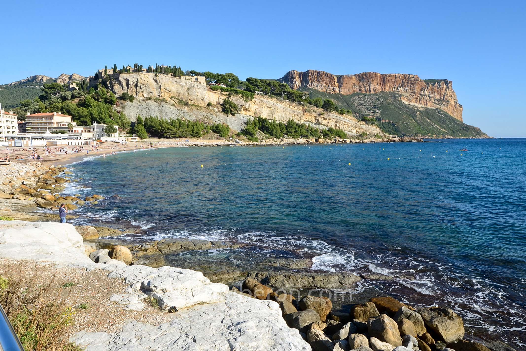 Beach at Cassis
