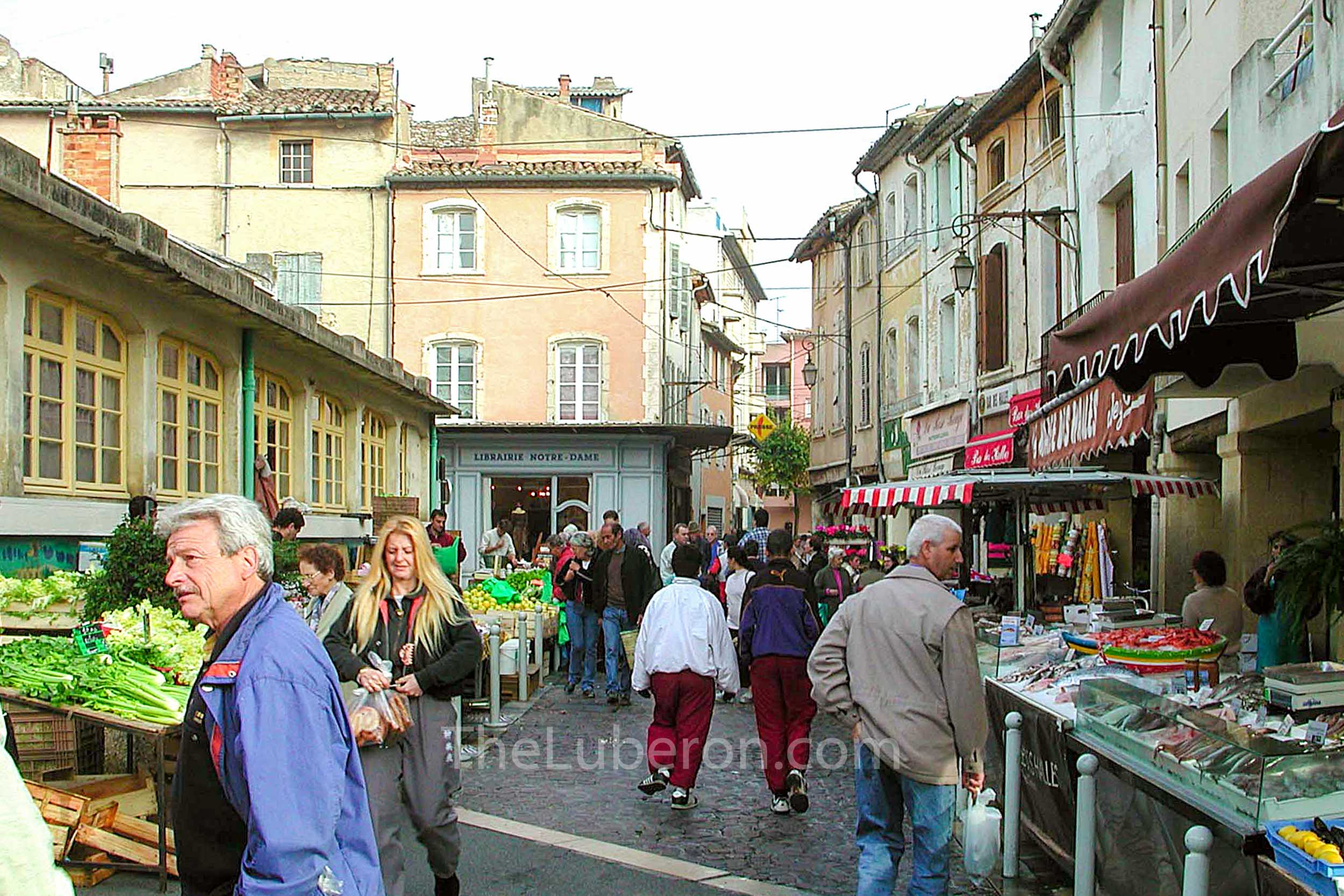 Cavaillon market on a Monday morning