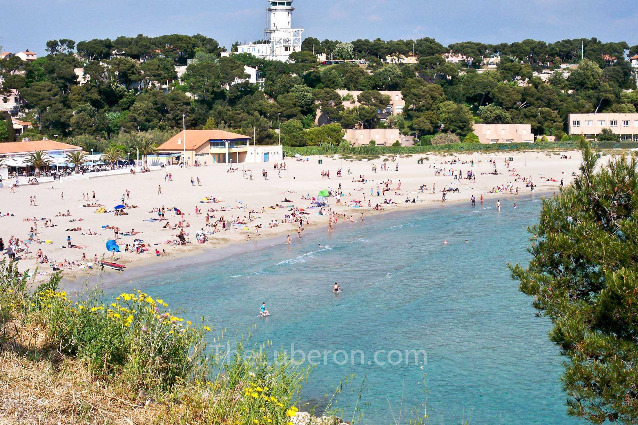 Verdon beach, Cote Bleue