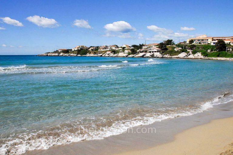 Verdon beach near Martigues