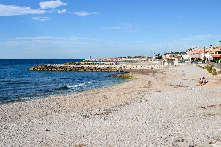 Beach at Sausset-les-Pins