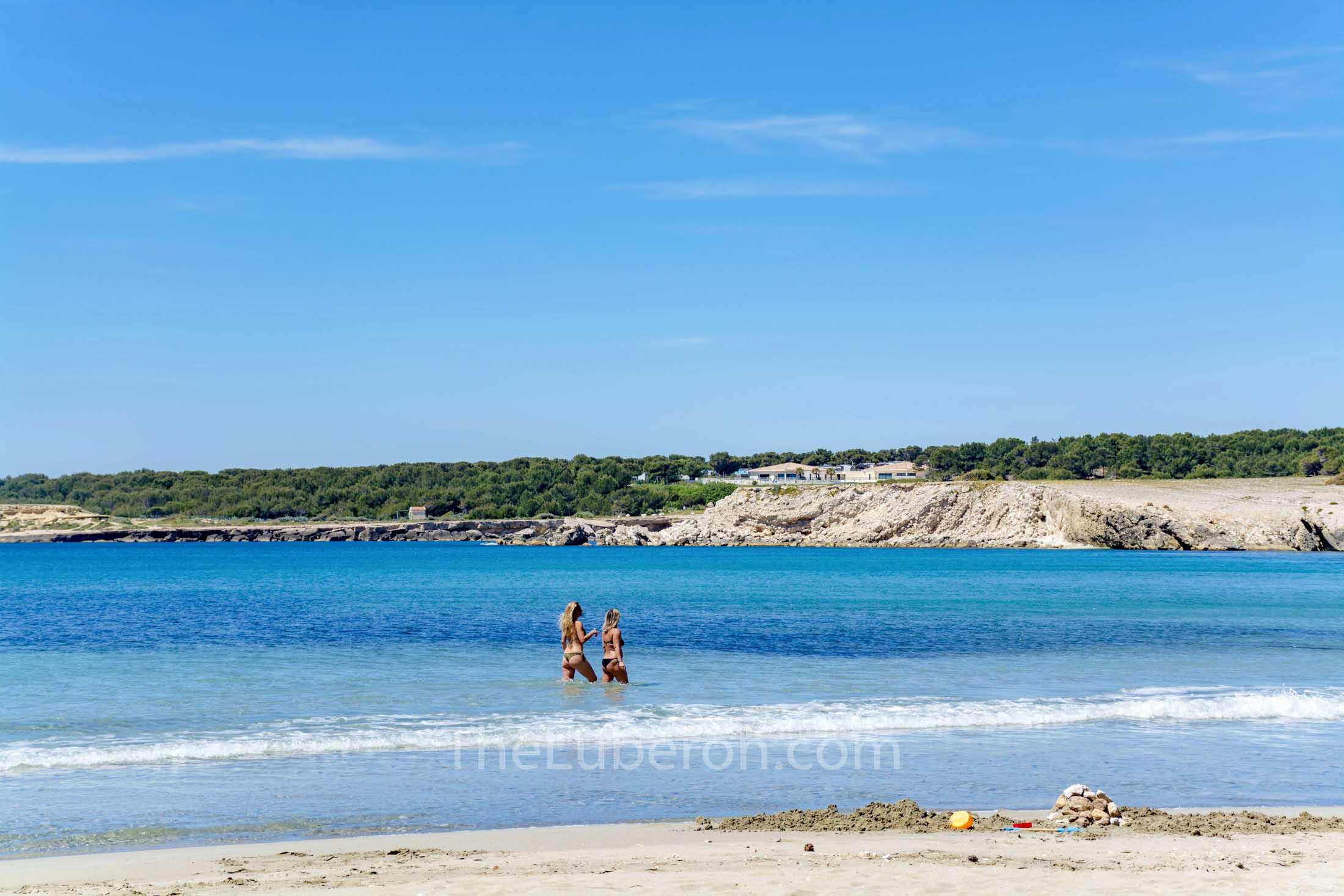 Ste Croix beach, Cote Bleue