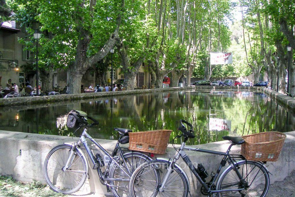 Bikes in Cucuron