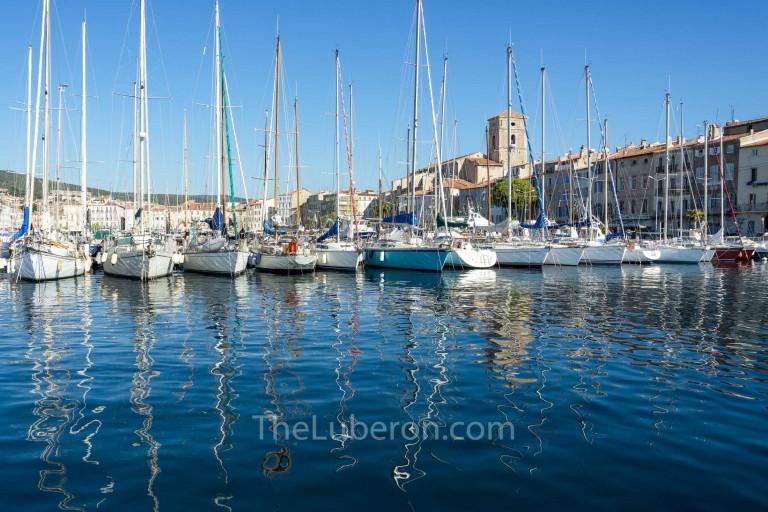 La Ciotat harbour and boats