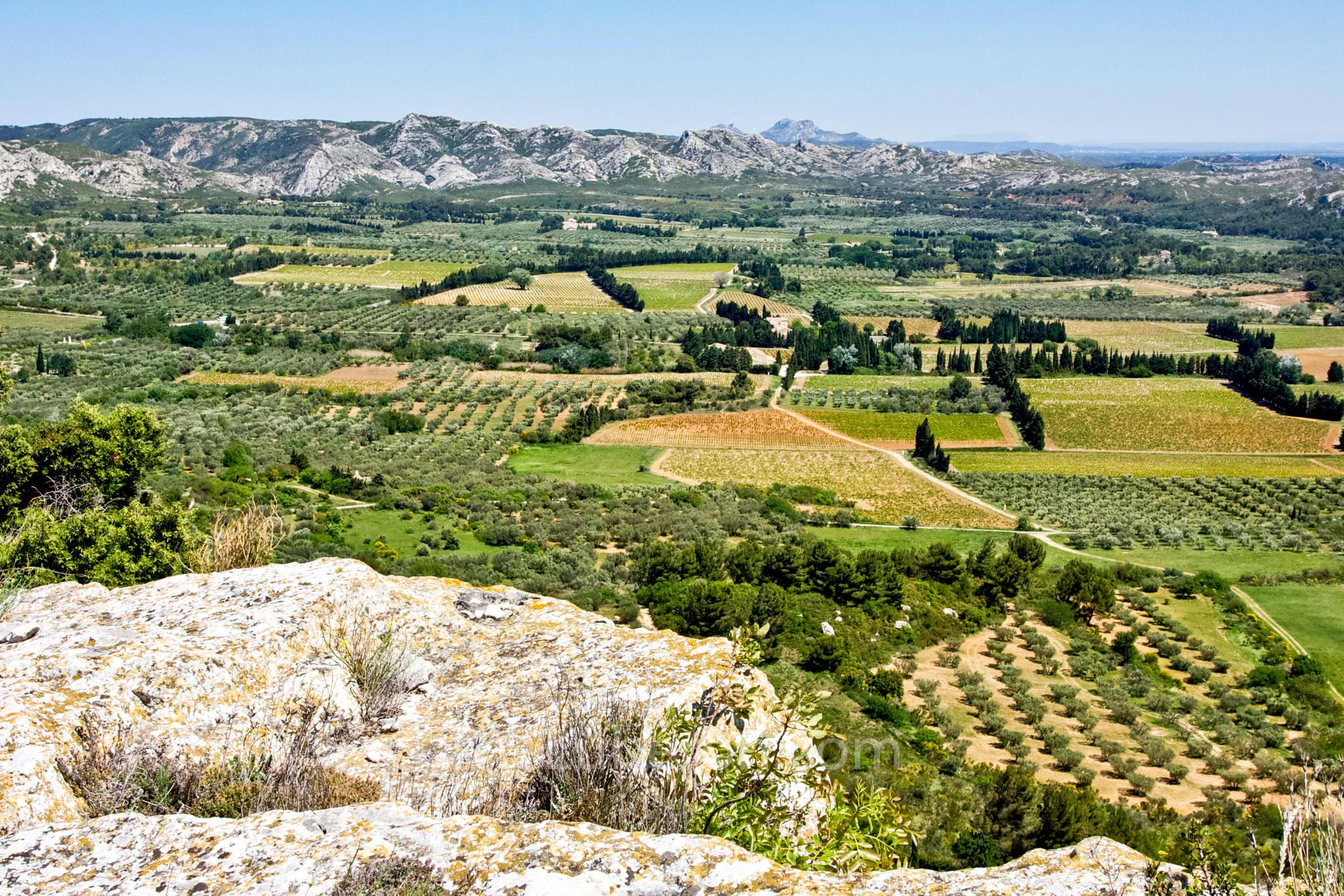 Vista from Les Baux-de-Provence