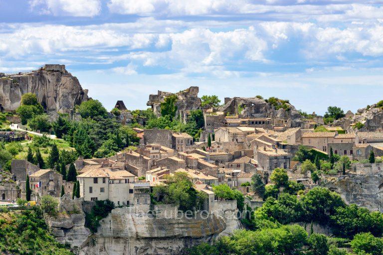 Village view of Les Baux-de-Provence